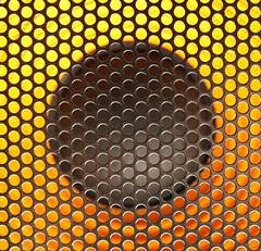 The Speaker (jhhwild) Tags: up close full frame speaker