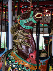 Carousel Horse (Gary Burke.) Tags: park nyc newyorkcity horse ny newyork animal spring ride carousel queens merrygoround attraction worldsfair flushing carouselhorse flushingmeadowscoronapark garyburke