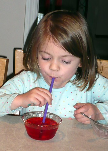 Eating Jello through a Straw