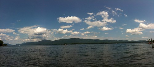 lake mountains beach water boat lakegeorge iphone3gs