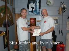 Kyle Ament w/ Sifu Jordan - Orlando FL.