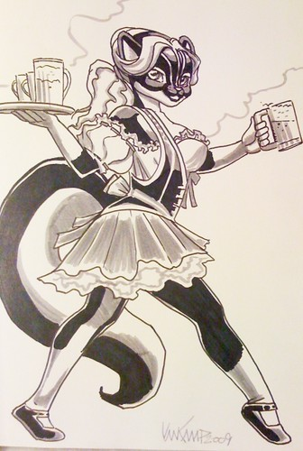 Skunk Barmaid