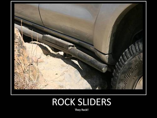 How to build rock sliders