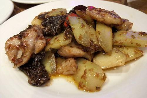 Stir Fried Fish with Szechuan Peppercorn
