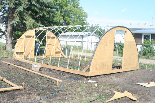 An inexpensive hail proof pvc pipe greenhouse alberta - Prix d une serre de jardin ...