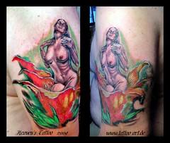 Sensual (Stefan Beckhusen) Tags: art tattoo germany studio deutschland heavens braunschweig realistic niedersachsen