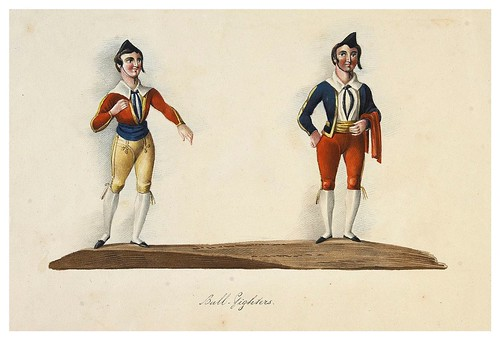 014- Toreros-Picturesque review of the costume of the portuguese 1836