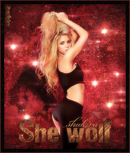 shakira she wolf wallpaper. Shakira - She Wolf (Cave