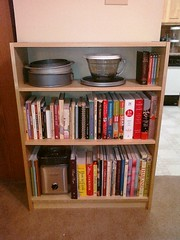 New Cookbook Bookshelf