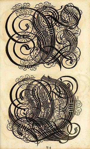 009--Kunstrichtige Schreibart  allerhand Versalie..Paul Frank 1655