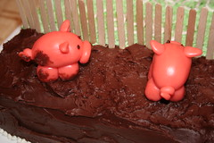 Two muddy pigs (Simply Sonya) Tags: cake pig marzipan