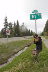 _DSC2493 (dogseat) Tags: me sign alaska roadtrip sideburns kenaipeninsula dogseat beardo muttonchops myroad dundrearies