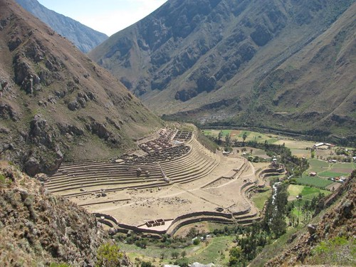 large inca site along the trail