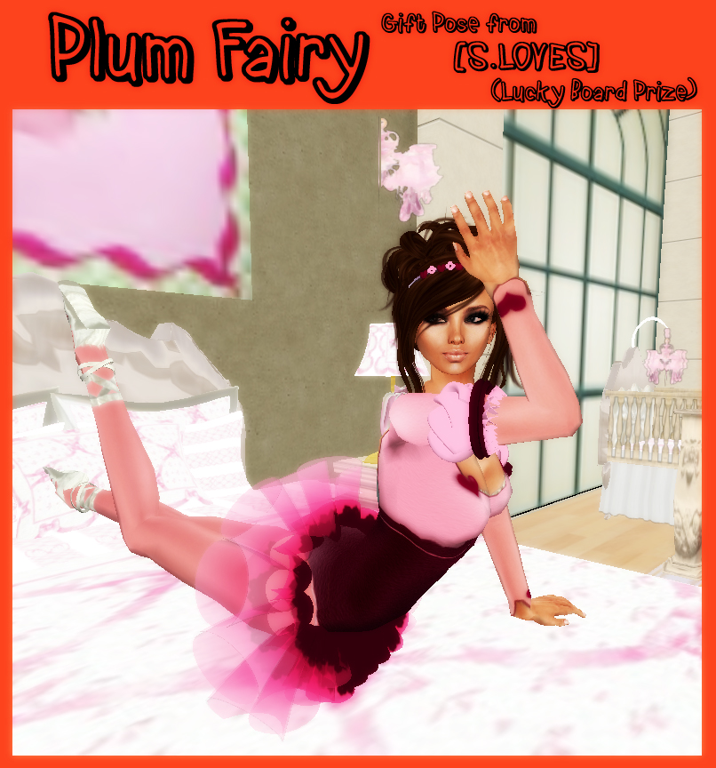 Plum Fairy LUCKY BOARD PRIZE