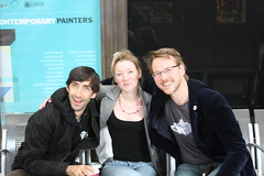 Dan Meth, Katie Brown and Gavin Freeborn AKA Irish Wonderboy (Irish Wonderboy) Tags: newyork illustration leeds cartoons nti oldbroadcastinghouse danmeth