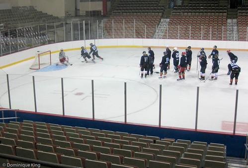 Erie Otter practice 2