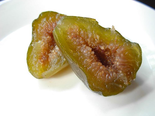 Green Figs in Ginger Syrup