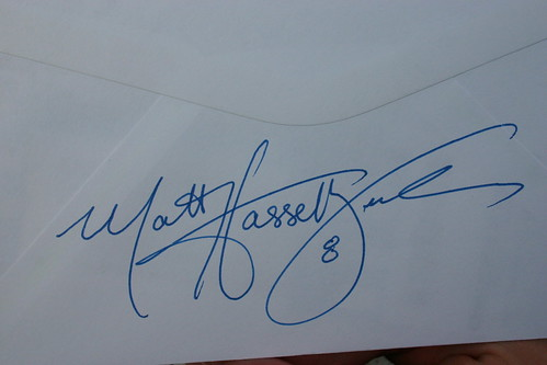 Matt Hasselbeck's Autograph