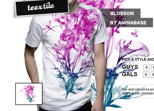 'Blossom' T-shirt in sale
