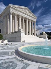 Supreme Court With Fountain copy (ken mccown) Tags: water fountain pool architecture washingtondc neoclassicism unitedstatessupremecourt