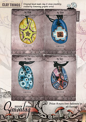 Simontag NEW COLECTION 09 (simontagstudio) Tags: sunset food art mushroom fashion animals rock stone modern cat fun mushrooms design necklace cool haze funny rocks paint artist graphic native handmade drawing crafts goa decoration craft jewelry jewellery fairy ornaments fantasy clay medallion ambient motive draw psychedelic skunk joint trance rabit amulet amanita jewel fairytales necklaces beautyful marihuana pendants accessory northernlight amanitas simontag kalichakra accessy hushberry