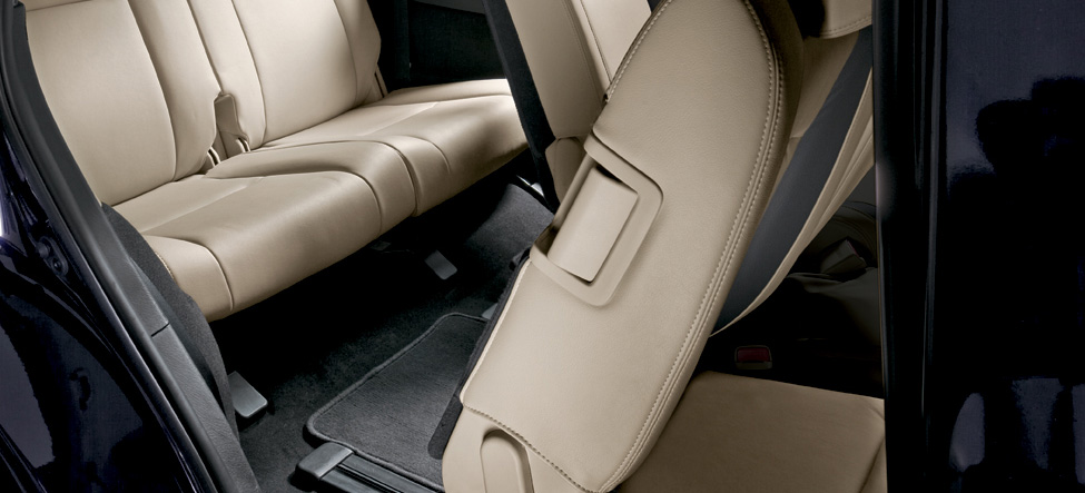 second-row seats Mazda CX-9