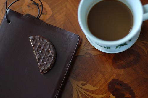 a coffee, a biscuit & a good book