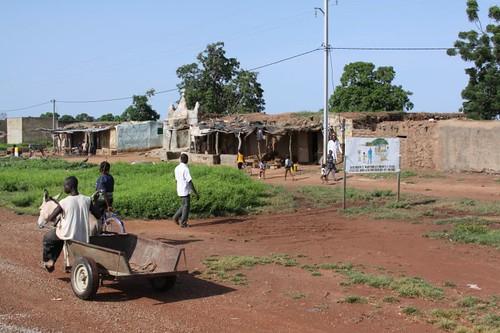 Boromo village.