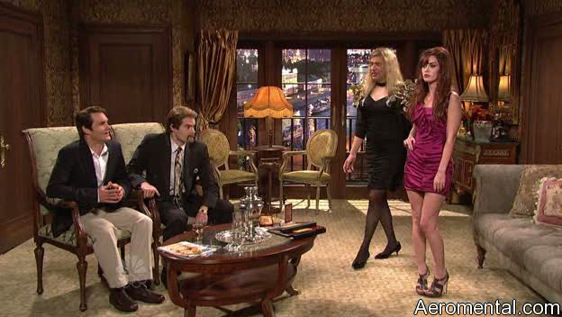 Megan Fox SNL prostituta rusa
