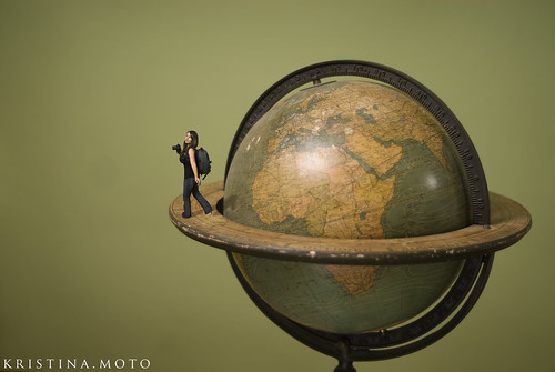 8/365: Traveling the world... by kristina.yamamoto