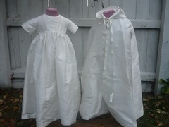 Christening gown and cloak (angelicfolk) Tags: christening cloak gown