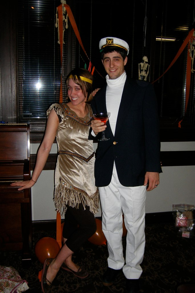 was a cruise boat captain   Yacht Captain Costume