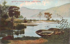 Loch Lomond, Mouth Of Water Of Luss 1911