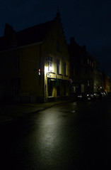 Brugges by night