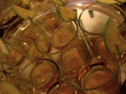 """Pomme Frere"" cocktails"