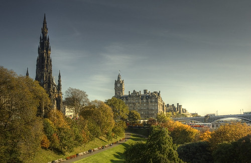 Scott Monument & The Gardens