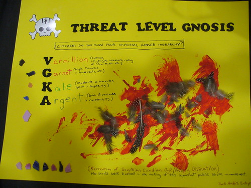Threat Level Gnosis by Snurri.