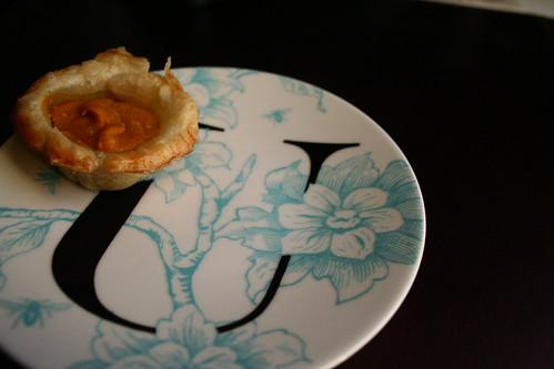 Mini Pumpkin Pie for U