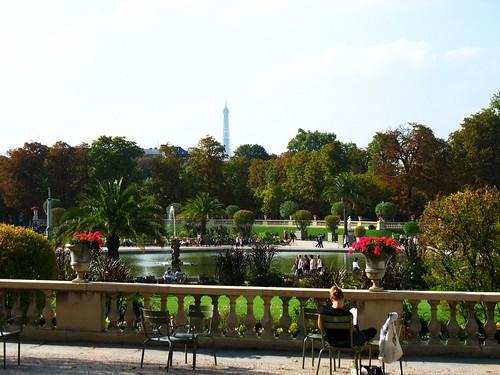 the Jardin du Luxembourg, Paris (c2009 FK Benfield)