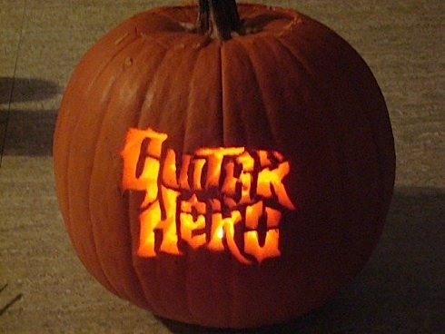 calabaza guitar hero