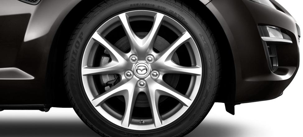 Mazda RX-8 18-inch aluminum-alloy wheels