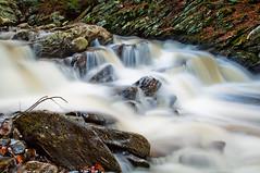 wahconah 1 (CM Murray) Tags: longexposure autumn nature water creek waterfall stream raw massachusetts tripod motionblur slowshutter berkshires remotecontrol k7 movingwater ndfilter da1855 wahconahfalls pentaxk7