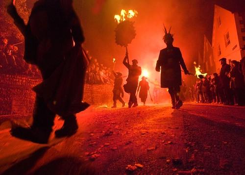 Lewes Bonfire 2009