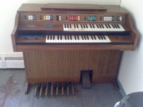 we got a free organ