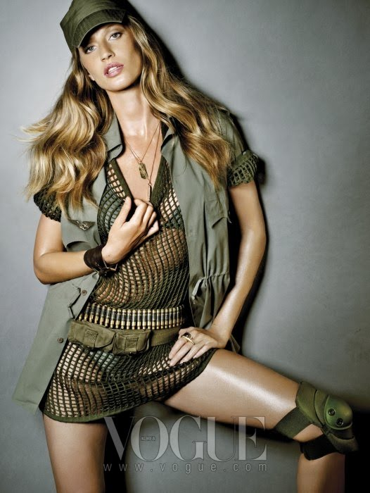 VOGUE  GISELE BUNDCHEN by NINO MUNOZ  8