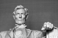 President Lincoln (Read2me) Tags: bw face statue washingtondc lincolnmemorial gamewinner challengeyouwinner friendlychallenges thechallengefactory yourock1stplace agcgwinner herowinner superherochallengewinner storybookwinner storybookchallengegroupotr pregamewinner facenotreal