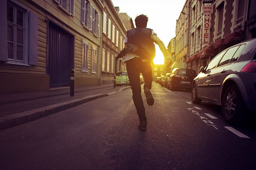 RUN AWAY FASTER by Theo Gosselin