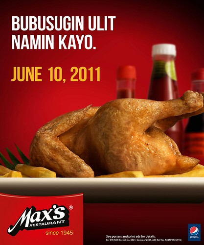 Max's Chicken All You Can June 2011 mechanics