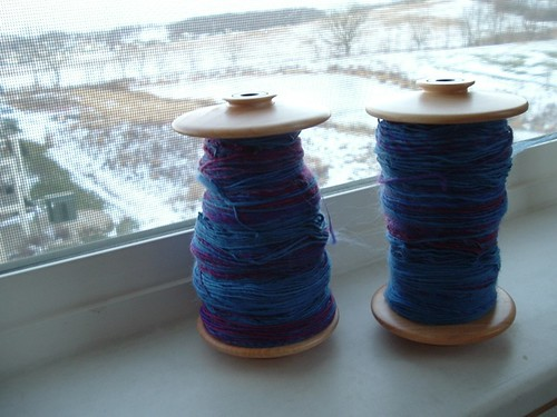 First two bobbins