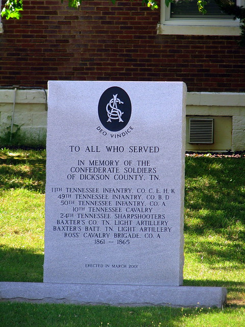 Confederate Soldier monument of Dickson County